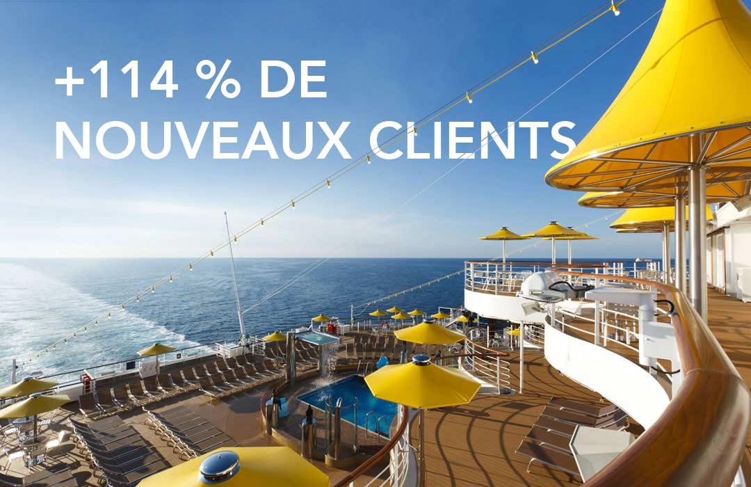 +114 % de nouveaux clients